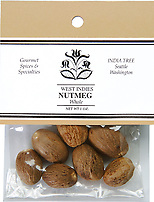 India Tree Whole Nutmeg, India Tree Spices