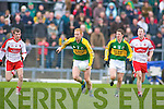 Seamus Scanlon, Kieran O'Leary, Kerry v Derry, Allianz National Football League, 2nd March 2008 at Fitzgerald Stadium, Killarney.   Copyright Kerry's Eye 2008