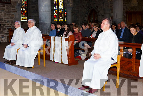 ORDINATION to the Permanent Diaconate of Denis Kelleher, Tralee, Thady O'Connor, Kilcummin and Pat Coffey, Killorglin by Bishop Ray Browne at St. John's Church on Saturday