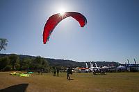 Paraglider, Northwest Paddling Festival 2016, Lake Sammamish State Park, Issaquah, WA, USA.