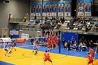 GRONINGEN - Volleybal, Abiant Lycurgus - Dynamo Apeldoorn, Alfa College , Eredivisie , seizoen 2017-2018, 26-11-2017 overzicht Alfa college