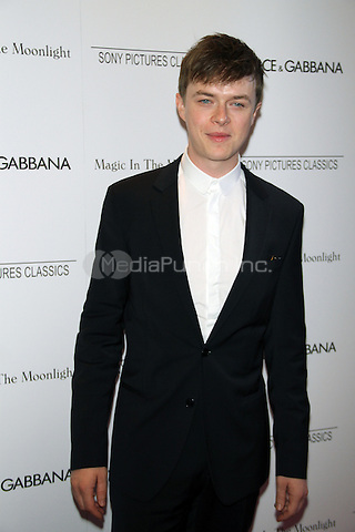 NEW YORK, NY - JULY 17: Dane DeHaan at the 'Magic In The Moonlight' premiere at the Paris Theater on July 17, 2014 in New York City. Credit: RW/MediaPunch