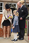 """PRINCESS EUGENIE, LOUISE WINDSOR AND PRINCE PHILIP.at Easter Service at St George's Chapel, Windsor_April8, 2012.Mandatory credit photo: ©NEWSPIX INTERNATIONAL..(Failure to credit will incur a surcharge of 100% of reproduction fees)..                **ALL FEES PAYABLE TO: """"NEWSPIX INTERNATIONAL""""**..IMMEDIATE CONFIRMATION OF USAGE REQUIRED:.Newspix International, 31 Chinnery Hill, Bishop's Stortford, ENGLAND CM23 3PS.Tel:+441279 324672  ; Fax: +441279656877.Mobile:  07775681153.e-mail: info@newspixinternational.co.uk"""