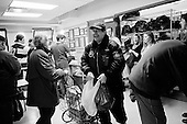 February 28, 2009.New York, New  York.USA..The Yorkville Common Pantry on a Saturday distributes food for free. The volunteers who work at the pantry see many new people coming as the economic crisis creates greater unemployed amongst the lower middle class in the United States.