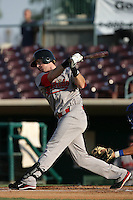 July 26 2009: Andrew Fie of the Visalia Rawhide during game against the Inland Empire 66'ers at Arrowhead Credit Union Park in San Bernardino,CA..Photo by Larry Goren/Four Seam Images