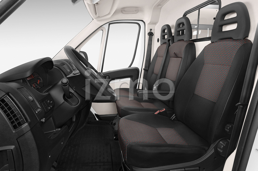 Front seat view of a 2015 Citroen JUMPER L2H2 5 Door Cargo Van Front Seat car photos