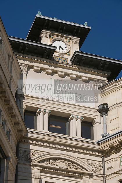 Europe/France/Rhône-Alpes/69/Rhône/Lyon: détail  façade du Lycée La Martinière