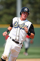July 16 2008: Ryan Mount of the Rancho Cucamonga Quakes during game against the High Desert Mavericks at The Epicenter in Rancho Cucamonga,CA.  Photo by Larry Goren/Four Seam Images