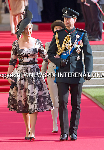 "PRINCE EDWARD AND SOPHIE, COUNTESS OF WESSEX.Religious Wedding Ceremony of HRH the Hereditary Grand Duke and Countess Stéphanie de Lannoy at Cathedral of Our lady of Luxembourg, Luxembourg_20-10-2012.Mandatory credit photo: ©Dias/NEWSPIX INTERNATIONAL..(Failure to credit will incur a surcharge of 100% of reproduction fees)..                **ALL FEES PAYABLE TO: ""NEWSPIX INTERNATIONAL""**..IMMEDIATE CONFIRMATION OF USAGE REQUIRED:.Newspix International, 31 Chinnery Hill, Bishop's Stortford, ENGLAND CM23 3PS.Tel:+441279 324672  ; Fax: +441279656877.Mobile:  07775681153.e-mail: info@newspixinternational.co.uk"