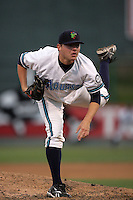 July 6 2009: Nick Czyz of the Everett AquaSox pitches against the Yakima Bears at Everett Memorial Stadium in Everett,WA.  Photo by Larry Goren/Four Seam Images