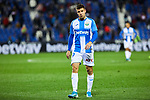 Aitor Ruibal of CD Leganes during La Liga match between CD Leganes and Getafe CF at Butarque Stadium in Leganes, Spain. January 17, 2020. (ALTERPHOTOS/A. Perez Meca)