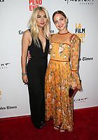 "15 June 2017 - Culver City, California - Hayley Kiyoko, Mena Suvari. 2017 Los Angeles Film Festival - Premiere Of ""Becks"" held at ArcLight Culver City. Photo Credit: F. Sadou/AdMedia"
