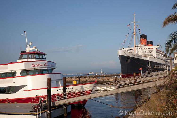 Queen Mary Kayte Deioma Travel Photography - Catalina cruises