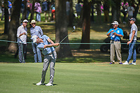 Kevin Kisner (USA) hits his approach shot on 2 during round 4 of the World Golf Championships, Mexico, Club De Golf Chapultepec, Mexico City, Mexico. 3/4/2018.<br /> Picture: Golffile | Ken Murray<br /> <br /> <br /> All photo usage must carry mandatory copyright credit (&copy; Golffile | Ken Murray)