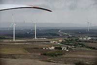 TURKEY Silivri, wind farm of Eksim Holding with 18 Nordex N100 wind turbines  / TUERKEI Silivri, Windpark der Eksim Holding mit 18 Nordex N100 Windkraftanlagen a 2.5 MW