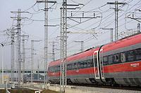 - Treviglio (Brescia), viaggio di prova sulla nuova linea Alta Velocit&agrave;/Alta Capacit&agrave; Treviglio-Brescia, parte integrante del Corridoio Europeo TENT-T <br /> <br /> <br /> <br /> - Treviglio (Brescia), test ride on the new line High Speed / High Capacity Treviglio-Brescia, an integral part of the European Corridor TENT-T