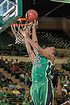 North Texas Mean Green guard Roger Franklin (32) in action during the game between the Jackson State Tigers and the North Texas Mean Green at the Super Pit arena in Denton, Texas. UNT defeats Jackson State 83 to 65...