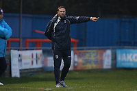 Barrow manager Ian Evatt during Braintree Town vs Barrow, Vanarama National League Football at the IronmongeryDirect Stadium on 1st December 2018