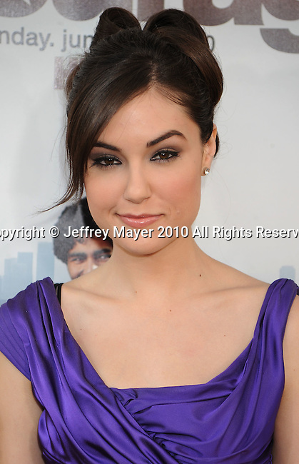 "HOLLYWOOD, CA. - June 16: Sasha Grey arrives at the ""Entourage"" Season Seven Premiere at Paramount Theater on the Paramount Studios lot on June 16, 2010 in Hollywood, California."