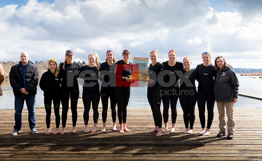 The University of Washington 2018 crew class day on March 24, 2018. (Photography by Scott Eklund/Red Box Pictures)