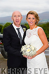 Aisling McMahon, Spa Road, Tralee, Daughter of Pat and Joan McMahon, and Jason Scannell, Marian Park Tralee, son of Frances Scannell were married at St. Brendan's Church Curraheen by Fr. Padraig Walsh on Friday 9th October 2015 with a reception at Ballyroe Heights Hotel