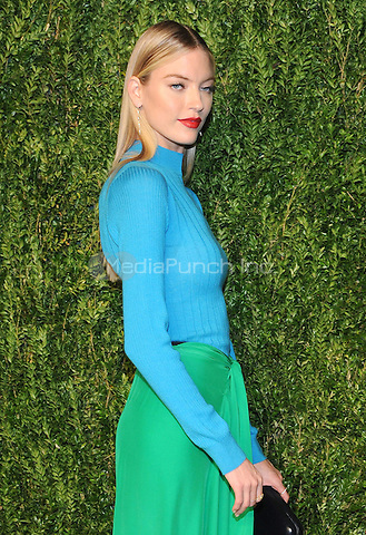 NEW YORK, NY - NOVEMBER 07:  Martha Hunt attends 13th Annual CFDA/Vogue Fashion Fund Awards at Spring Studios on November 7, 2016 in New York City. Photo by John Palmer/MediaPunch