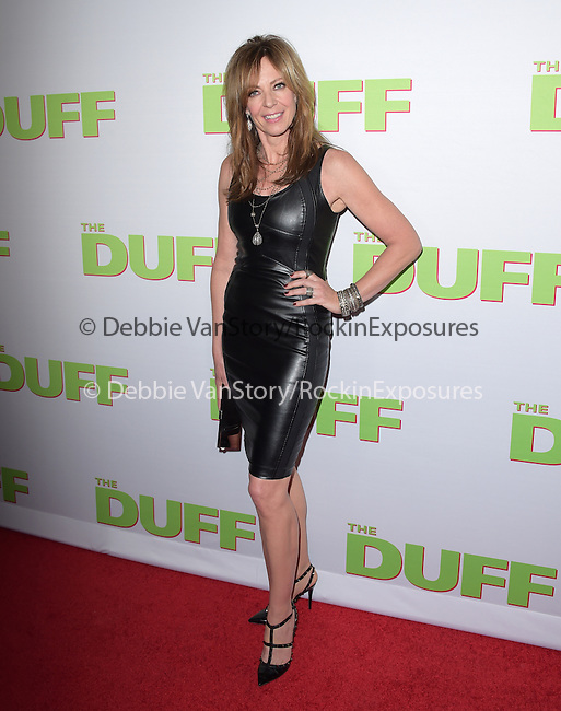 Allison Janney attends The CBS Films Los Angeles fan screening of THE DUFF held at The TCL Chinese 6 Theater  in Hollywood, California on February 12,2015                                                                               © 2015 Hollywood Press Agency