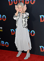 LOS ANGELES, CA. March 11, 2019: Helen Mirren at the world premiere of &quot;Dumbo&quot; at the El Capitan Theatre.<br /> Picture: Paul Smith/Featureflash