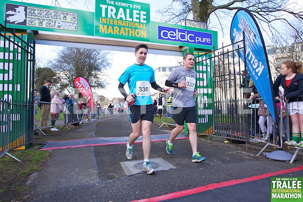0338 Brendan Lee 0337 Darragh Lee  who took part in the Kerry's Eye, Tralee International Marathon on Saturday March 16th 2013.