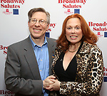 Ira Mont and Carolee Carmello attends Broadway Salutes 10 Years - 2009-2018 at Sardi's on November 13, 2018 in New York City.