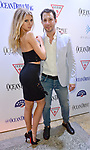 MIAMI BEACH, FL - FEBRUARY 15: Charlotte McKinney and Jared Shapiro attend Ocean Drive Magazine Celebrates Its February Issue With Cover Star Charlotte McKinney at Byblos Miami in Royal Palm Hotel on February 15, 2017 in Miami Beach, Florida. ( Photo by Johnny Louis / jlnphotography.com )