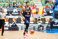 Spain's basketball player Ricky Rubio during the first match of the preparation for the Rio Olympic Game at Coliseum Burgos. July 12, 2016. (ALTERPHOTOS/BorjaB.Hojas)