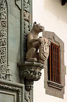 Spanien, Kanarische Inseln, Gran Canaria, Las Palmas. Kolumbus-Museum Casa Museo Colon