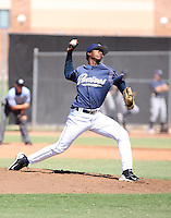 Juan Herrera - San Diego Padres - 2010 Instructional League.Photo by:  Bill Mitchell/Four Seam Images..