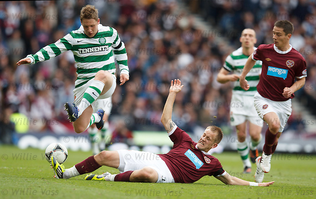 Kris Commons and Danny Grainger