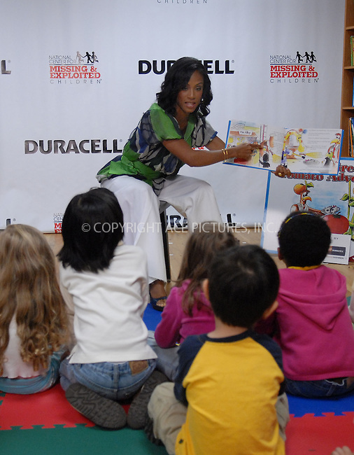 WWW.ACEPIXS.COM . . . . . ....May 2 2007, New York City....Actress Jada Pinkett Smith makes an appearance at the Preschool of America to read to children and unveil a new book, 'The Great Tomato Adventure: A Story About Smart Safety Choices' with child safety tools for parents sponsored by Duracell. ....Please byline: KRISTIN CALLAHAN - ACEPIXS.COM.. . . . . . ..Ace Pictures, Inc:  ..(646) 769 0430..e-mail: info@acepixs.com..web: http://www.acepixs.com