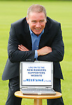 Ally McCoist promoting www.thebluenose.co.uk for the Rangers Supporters Assembly