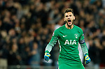 Tottenham's Hugo Lloris in action during the champions league match at Wembley Stadium, London. Picture date 13th September 2017. Picture credit should read: David Klein/Sportimage