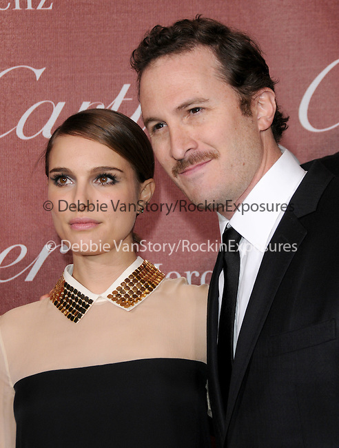 Darren Aronofsky and Natalie Portman attends the 2011 Palm Springs International Film Festival Awards Gala held at The Palm Springs Convention Center in Palm Springs, California on January 08,2011                                                                               © 2010 Hollywood Press Agency