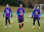 06.04.2018 Rangers training:<br /> Jamie Murphy, Kenny Miller and James Tavernier