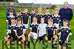 The Ardfert U12 team taking part in the Eric Mason Memorial Tournament held in Ballymac GAA club on Saturday.