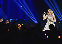 NASHVILLE, TN - NOVEMBER 8:  Carrie Underwood at the 51st Annual CMA Awards at the Bridgetone Arena on November 8, 2017 iin Nashville, Tennessee. (Photo by Scott Kirkland/PictureGroup)