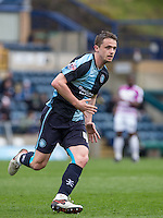 Stephen McGinn of Wycombe Wanderers during the Sky Bet League 2 match between Wycombe Wanderers and Barnet at Adams Park, High Wycombe, England on 16 April 2016. Photo by Andy Rowland.