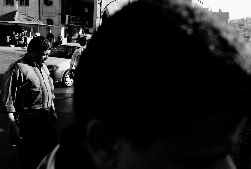 Iraqi refugees in downtown Amman, Jordan, September 2009. Photo: Ed Giles.