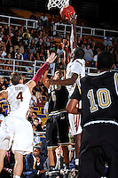 18 November 2010:  FIU's Martavis Kee (5) shoots a jump shot in the second half as the Florida State University Seminoles defeated the FIU Golden Panthers, 89-66, at the U.S. Century Bank Arena in Miami, Florida.