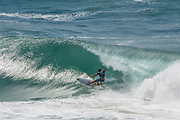 Kirra Point,  COOLANGATTA, Queensland/AUS (Thursday, March 15, 2018) Griffin Colapinto (USA) - The first stop on the 2018 World Championship Tour (WCT), the Quiksilver and Roxy Pro Gold Coast, witnessed an incredible start to the season as Lakey Peterson (USA) and Julian Wilson (AUS) claimed victory today in extraordinary conditions at Kirra on the southern end of Gold Coast. <br /> <br /> Unpredictable performances and massive upsets shocked surfing&rsquo;s biggest stage at this year&rsquo;s season opener to remind the world that anything can happen on the Championship Tour. In addition to Peterson and Wilson taking the wins today, a new generation of surfers stepped up to showcase their progression, determination, and potential.  <br /> <br /> Photo: joliphotos.com