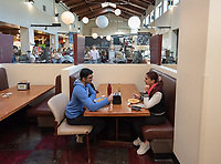 Gresham Dining Hall<br /> The Marketplace in the Johnson Student Center (JSC) on Jan. 24, 2019, maintained by Campus Dining.<br /> (Photo by Marc Campos, Occidental College Photographer)