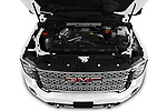 Car Stock 2020 GMC Sierra-3500HD Denali 4 Door Pick-up Engine  high angle detail view