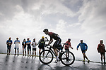 Wout Poels (Ned) Team Ineos climbs Prat d'Albis during Stage 15 of the 2019 Tour de France running 185km from Limoux to Foix Prat d'Albis, France. 20th July 2019.<br /> Picture: ASO/Pauline Ballet | Cyclefile<br /> All photos usage must carry mandatory copyright credit (© Cyclefile | ASO/Pauline Ballet)