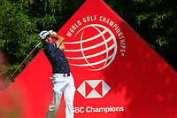 Benjamin Hebert (FRA) on the 2nd tee during the 3rd round of the WGC HSBC Champions, Sheshan Golf Club, Shanghai, China. 02/11/2019.<br /> Picture Fran Caffrey / Golffile.ie<br /> <br /> All photo usage must carry mandatory copyright credit (© Golffile | Fran Caffrey)